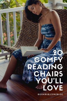 The best reading chairs are roomy, inviting, and so comfortable you could happily spend hours in them -- like the options in this list! #reading #chairs #readingchairs Comfy Reading Chair, Reading Nook Kids, Reading Chairs, Library Inspiration, Nook Ideas, Book Nooks, Bookshelves, Book Lovers, Books To Read