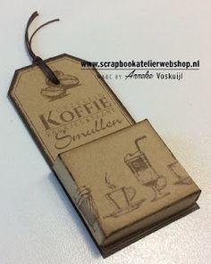 ANNEKESCARDART: Beschrijving van de Make & Take van het Scrapbook Atelier.
