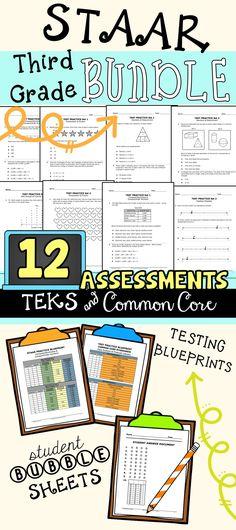 3rd grade math staar test prep bundle all teks included staar 3rd grade math staar test prep bundle all teks included common core alignment malvernweather Images