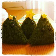 Ravelry: nutmegknitter's Christmas Tree Ornaments in Weekend Wool