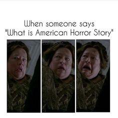 Horror of Horrors! Follow rickysturn/american-horror-story