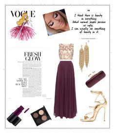 """✨"" by samra-sisic ❤ liked on Polyvore featuring Halston Heritage, Raishma, Alexander McQueen, MAC Cosmetics, Disney and Capwell + Co"