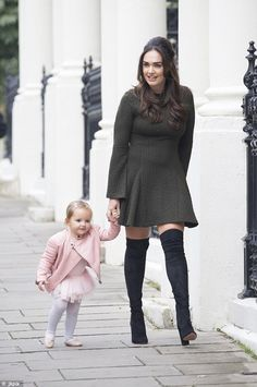 Like mother, like daughter! Sophia Ecclestone, two, is clearly taking after her glamorous mum Tamara, sporting head-to-toe designer wares as she bounded along the streets of west London on Thursday