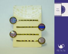 Forcine - Set di 4 forcine per capelli con cammeo (12mm) - un prodotto unico di AllTheTea su DaWanda #handmade #jewelry #DIY #ideas #gifts #vintage #unique #resin #glass #cabochon #buttons #pin #bobbypin #hairpin #pins #indie #hipster #teaparty #tealovers