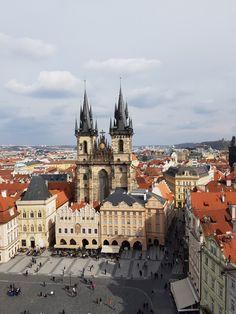 Church og Our Lady before Tyn, Prague, by MargalitMosaic