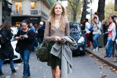 Paris Street Style Photos - Spring 2015 PFW Street Style Pictures