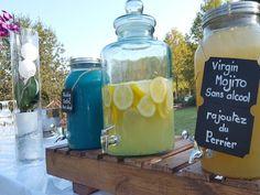 Réaliser ses propres cocktails et limonades à son mariage !