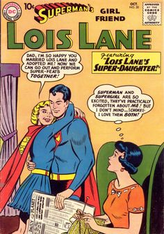 Superman's Girlfriend, Lois Lane #20, October 1960, cover by Curt Swan and Stan Kaye