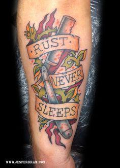 Tattoo by Jesper Bram // Belairtattoo.dk // Copenhagen
