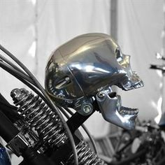 Picture of Skull Headlight Polished