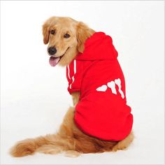 Free shipping dog clothes puppy pet coat dog hoodie sweater pet shop adidogs pet dog clothes for big pet products supplies