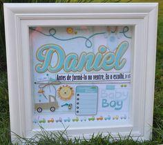 Quadro de maternidade Daniel.