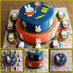 Nijntje taart voor Yasmijn dr 2e verjaardag
