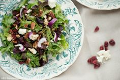 South Dakota Food Cranberry Walnut Salad  |  Wholesome Magazine #wholesomesd #southdakota