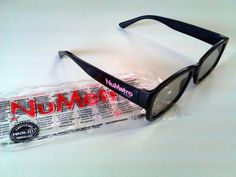 3D glasses - R 7,00 - keep 'em for next time and save the planet! $7.00