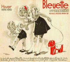 Catalogue Bleuette. Hiver 1939-1940. Illustrations Manon Iessel