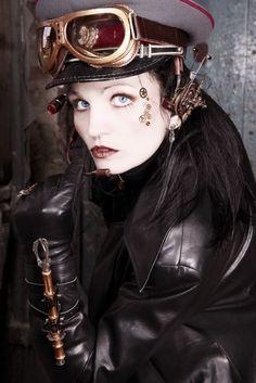 steampunk dark - Looks like you Christy Monaghan. ; )