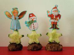 Kersthapjes - Gehakt met komkommer