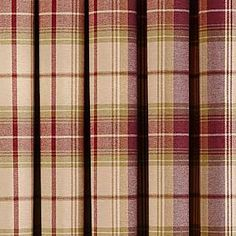 Dorma Bloomsbury Check Plum Lined Eyelet Curtains Lounge Curtains, Curtains Dunelm, Check Curtains, Dining Room Curtains, Purple Curtains, Patterned Curtains, Types Of Curtains