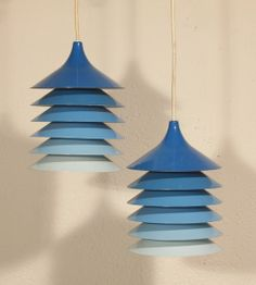 Anonymous; Ceiling Lights by Ikea, c1970.