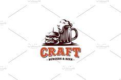 Craft burgers & beer by Repa design bureau on @creativemarket