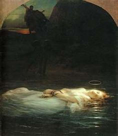 The Young Martyr by Delaroche