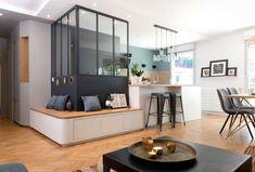 Quartier Monplaisir - MARION LANOE, Architecte dintérieur et décoratrice, Lyon #KitchenRenovationIdeas #interiordesignlivingroommodern #interiordesignlivingroom #interiordesignlivingroomcolors #interiordesignlivingroomrustic #interiordesignlivingroomwarm