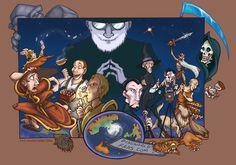 Step into the Discworld by *JessKat-art on deviantART