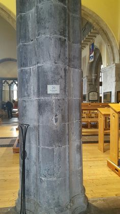 Pillar made by the same dude in Rosslyn chapel