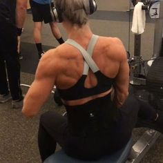 Hit a little lower Lat and rear delt with this seated row variation. Sit sideways on the bench and pull across your body into a row.
