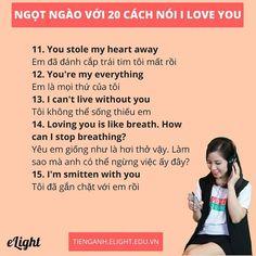 Ngọt Ngào 20 Cách Nói I Love You - Tiếng Anh Hay