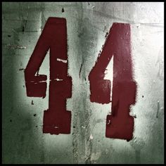 Number 44 by Simon Verrall, via Flickr