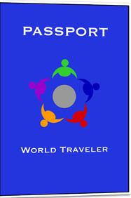 Printable passport to use in international week. Maybe every country table could have a stamp for kids to collect in their passports?