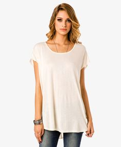 Button Back Tunic | FOREVER21 - 2014164936