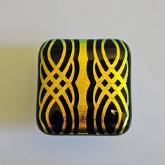 Cabinet Knobs Sandblasted Dichroic Fused Glass Knobs by sljglass, $24.00