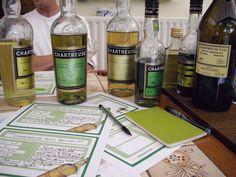 Dégustation de chartreuse, comparez les saveurs et à vos notes !