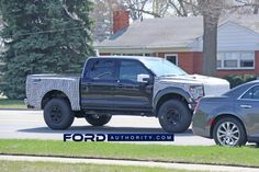 Just yesterday, Ford Authority reported some interesting new details about the forthcoming Ford F-150 Raptor R, a more hardcore version of the all-new, third-generation 2021 Ford F-150 Raptor due to launch next year. Now, we have our very first photos of a Ford F-150 Raptor R prototype out testing, which both confirms those details and gives us our first look at the new V8-powered model. Both the front and rear of the Raptor R prototype are covered in camo, which prevents us from getting a… Svt Raptor, Ford Raptor, Ford Mustang Shelby Gt500, Black Wheels, New Details, First Photo, First Time, Camo, Third