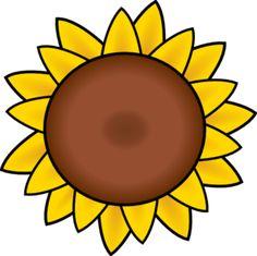 free printable sunflower stencils sunflower clip art vector clip rh pinterest com sunflower clip art free sunflower clipart transparent