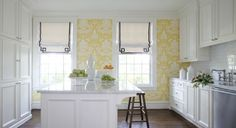 Clarence House the vase wallpaper via at home in arkansas