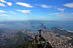 Small-Group Rio de Janeiro in a Day Tour Enjoy a tour in Rio de Janeiro's most iconic attractions and visit Corcovado and Sugar Loaf on the same day and the best time for you. We will take your also to Santa Teresa with its unique charming architecture and to the famous Selaron Steps.After meeting your guide at your hotel, the tour will startup Corcovado Mountain through the dense Tijuca rain forest to the 38m tall (125ft) Christ Redeemer Statue. You will have a guided tour o...
