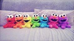Elmo!! Colors!!