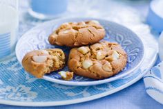 Crunch into these egg-free white chocolate and macadamia cookies.