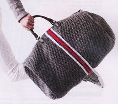 Duffel crochet Bag Crochet pattern with by patterns2014 on Etsy