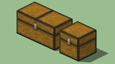 Minecraft Chests - 3D Warehouse