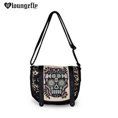 Share if you know that this #Loungefly Lace Skull With Fuschia Crossbody Bag is just what your outfit has been looking for.  Available here: http://www.loungefly.com/brands/loungefly/bags/loungefly-lace-skull-with-fuschia-crossbody-bag.html