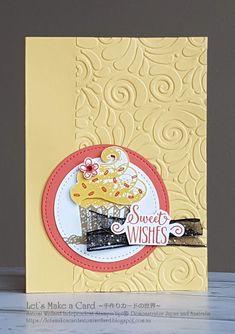 Carte de vœux ce pays Mandy Carte d/'anniversaire fait main Vierge à l/'intérieur