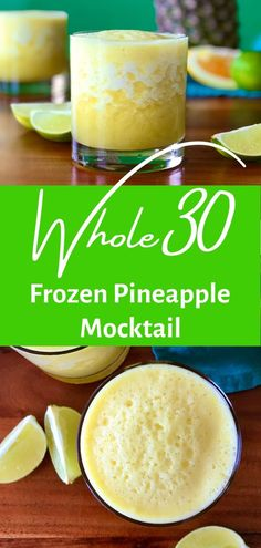 Whole30 Food List, Whole30 Recipes Lunch, Paleo Recipes, Pineapple Desserts, Frozen Pineapple, Whole 30 Diet, Paleo Whole 30, Yummy Drinks, Healthy Drinks
