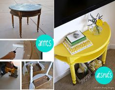 Bricolaje - reutilizar una mesa - Homepersonalshopper DIY manualidades