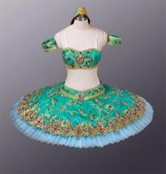 Classical Professional Ballet Tutu Le Corsaire Odalisque Turquoise Made to Order | eBay
