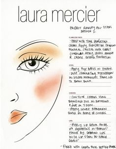 Episode 2: Recreate Uli's winning beauty look with our Laura Mercier face chart!